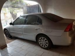 Honda Civic 2001 1.7 somente o carro td retirar peças - 2001