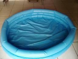 Piscina de plástico inflável