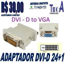 Adaptador DVI-D para VGA 24 + 1