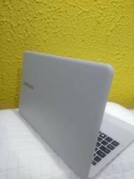 Notebook Samsung Branco 15.1 Novo