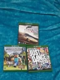 Forza Horizon 2, Minecraft, Just Dance 2015