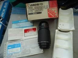 Objetiva canon fd zoom 75-200/45