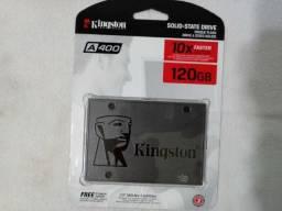 HD Hard disk ssd sata 120gb A400 Kingston 500mb/s ? lacrado, novo