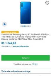 Galaxy A7 Azul 64GB