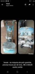 Máquina para polimento de granilite Fone *
