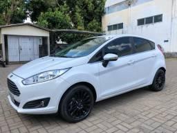Ford fiesta titanium plus 1.0 t ecoboost aut 2017 unico dono - 2017