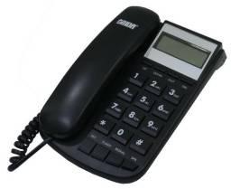 Telefone Onida - Com Identificador de Chamadas - Preto