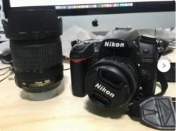Nikon D7000 + Lentes 18-105mm e 50mm 1.8 - Apenas 18k Clicks