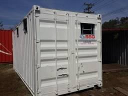 Container banheiro (sanitário) 20 pés 06 metros