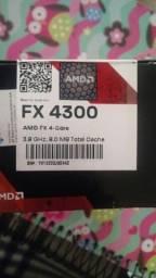 AMD FX 4300 Black Edition 3.8 GHz 8 MB cache Quad core AM3+