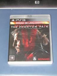 Metal Gear Solid - Phantom Pain - PS3 comprar usado  Ribeirão Preto