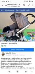 Vendo carrinho Kiddo + bebê conforto