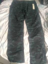 Calça jeans com Lyra unissex tamanho 46