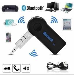 Adaptador Bluetooth P2 Sem Fio Android/IOS - (Seu carro com Bluetooth)