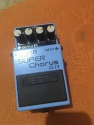 Pedal super Chorus 300 reais