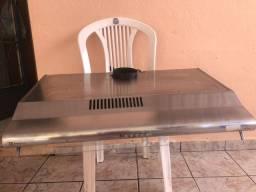 Exaustor Depurador de Cozinha Electrolux DE aço inoxidável