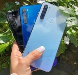 Brilhou.Redmi note 8 da Xiaomi.Lacradão garantia e entrega pra você!