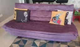 Sofá Cama Violeta Luxo
