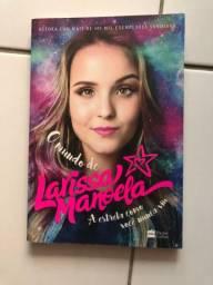 Livro o mundo de Larissa Manoela