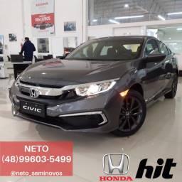 Honda Civic LX 2.0 Automático 2020/2020 ZERO KM