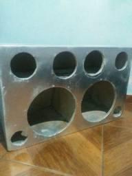 Projeto de som para 12 caixa para 12