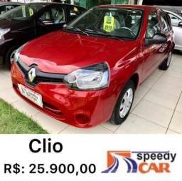 CLIO 2014/2015 1.0 AUTHENTIQUE 16V FLEX 4P MANUAL