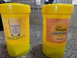 Porta Leite para guardar água e leite separados