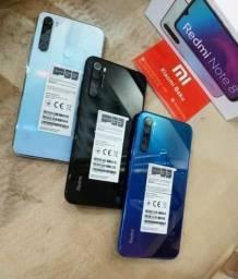Black Friday Smartphone Xiaomi Redmi Note 8 128gb e Vários modelos 12x no cartão