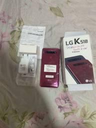 Lg k51 s novo na caixa com acessórios