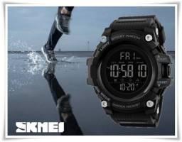 Relógio Skmei Digital Militar Black