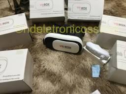 Óculos Realidade Virtual Vr Box Video Filme Smartphone+ controle
