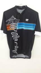 Camisa Ciclismo Masculino Manga Curta