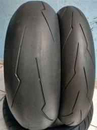 Par de pneu super Corsa sp 180/120