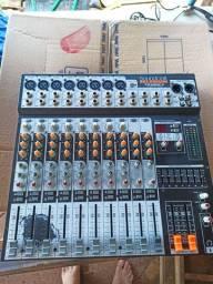Conserto em mesas de som e caixas ativas...