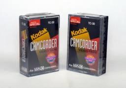 Fitas Vhs-c Kodak Tc-30 Lacrada
