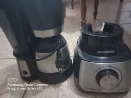 Título do anúncio: Vendo cafeteira liquidificador 80 RS