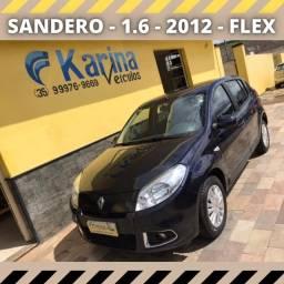 Sandero - 1.6 - 2012 - Flex