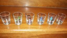 6 Copos Shot/dose Importados Cachaça/tequila/licor/whisky ......Personalizado