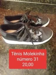 Tênis molekinha 31
