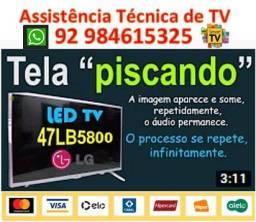 Tv LG Piscando Imagem - Consertamos