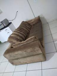 Barato! Sofá 3 lug muito confortável!