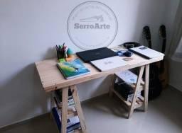 Mesa cavalete madeira