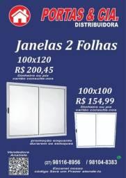 Título do anúncio: Janelas 2 Folhas