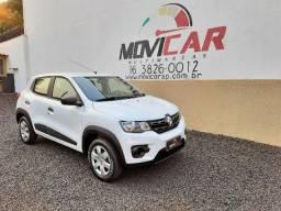 Título do anúncio: Renault Kwid Zen Completo 2019 30 Km não Onix HB20 Uno Palio Sandero