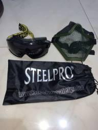 Óculos SteelPro e Máscara de proteção