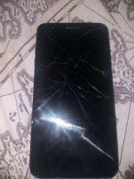 Celular Lg k11+ usado tela quebrada