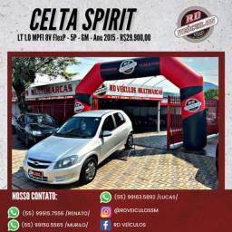 GM - Chevrolet Celta Spirit/ LT 1.0 MPFI 8V FlexP. 5p 2015 Flex