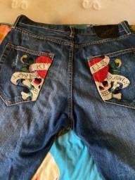 Título do anúncio: Bermuda jeans ed hardy
