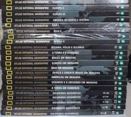 Coleção Atlas Nacional Geographic - 2008 *Leia a descrição