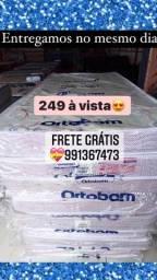 Título do anúncio: Cama Colchão Solteiro Novo Zerado Promoção frete grátis